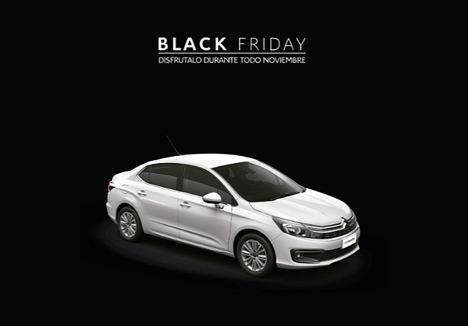 Citroen - Black Friday - Disfrutalo Todo Noviembre