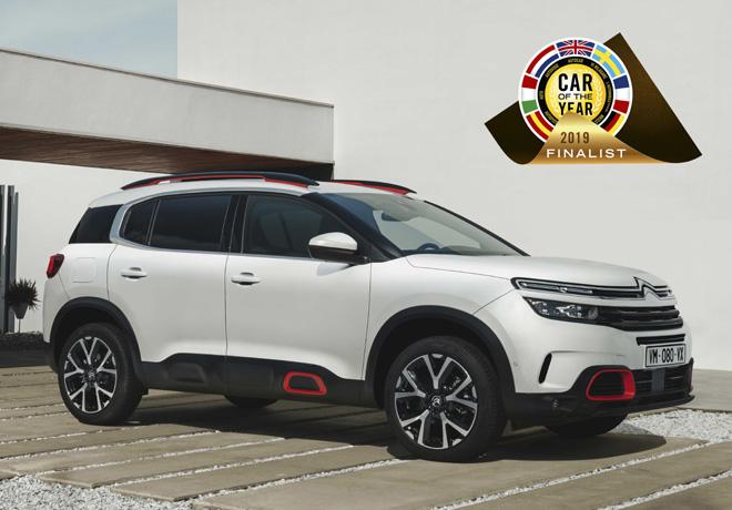 Citroen C5 Aircross es finalista en la elección del Auto del Anio 2019