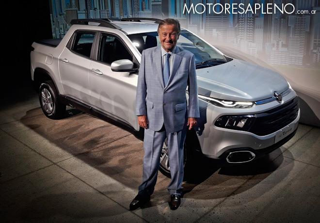 Llega la nueva pick up Fiat Toro con motor naftero.