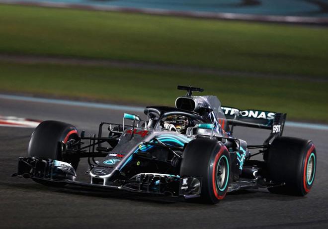 F1 - Abu Dhabi 2018 - Carrera - Lewis Hamilton - Mercedes GP