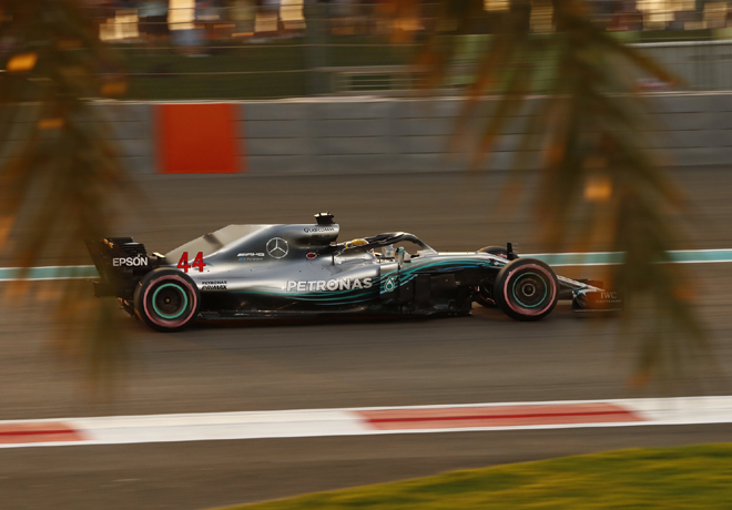 F1 - Abu Dhabi 2018 - Clasificacion - Lewis Hamilton - Mercedes GP