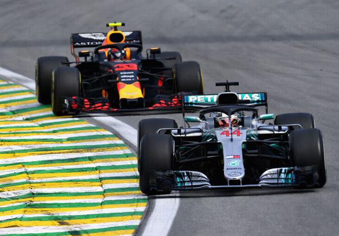 F1 - Brasil 2018 - Carrera - Lewis Hamilton - Mercedes GP