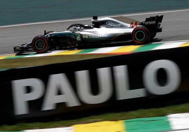 GP de Brasil de Fórmula 1 – Clasificación: Hamilton consiguió la 100ª pole position para Mercedes.
