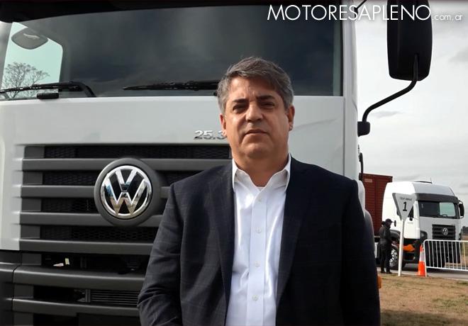 Federico Ojanguren - Gerente General de Volkswagen Camiones y Buses Argentina