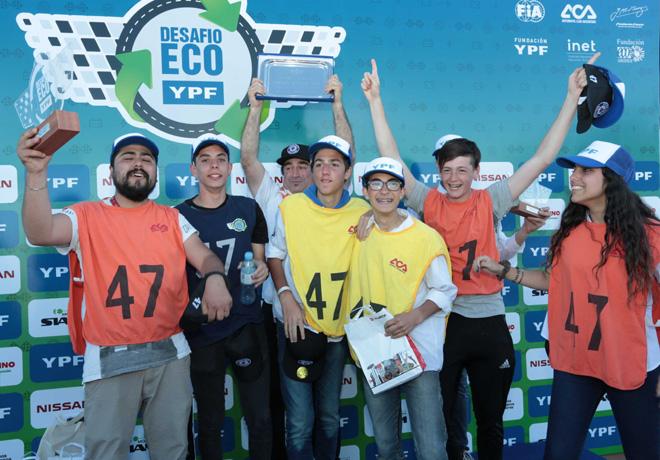 Finalizo con exito el Desafio ECO YPF 2018 2