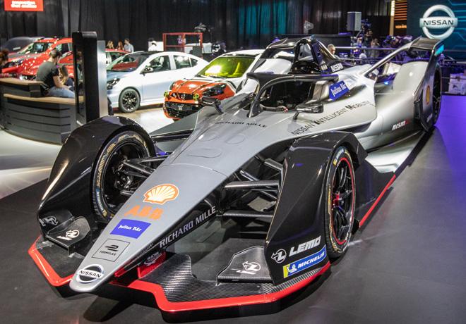 Fórmula E: Nissan muestra por primera vez en América Latina el prototipo de su vehículo.