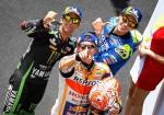 MotoGP - Sepang 2018 - Johann Zarco - Marc Marquez - Alex Rins en el Podio