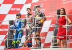 MotoGP - Valencia 2018 - Alex Rins - Andrea Dovizioso - Pol Espargaro el Podio