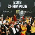 NASCAR - Homestead 2018 - Joey Logano -Campeon- en el Victory Lane