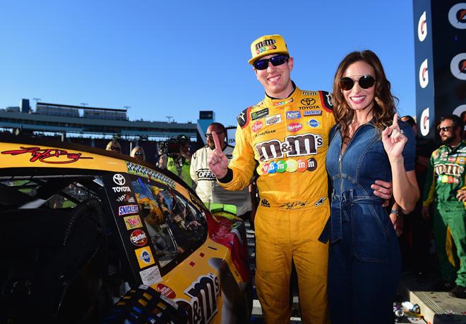 NASCAR - Phoenix 2018 - Kyle Busch en el Victory Lane