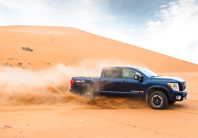 Nissan Patrol - Frontier - TITAN - Terra - desafian al Desierto del Sahara 5