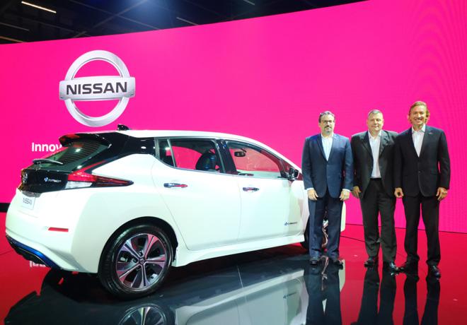 Nissan electrifica el Salon de San Pablo 2018