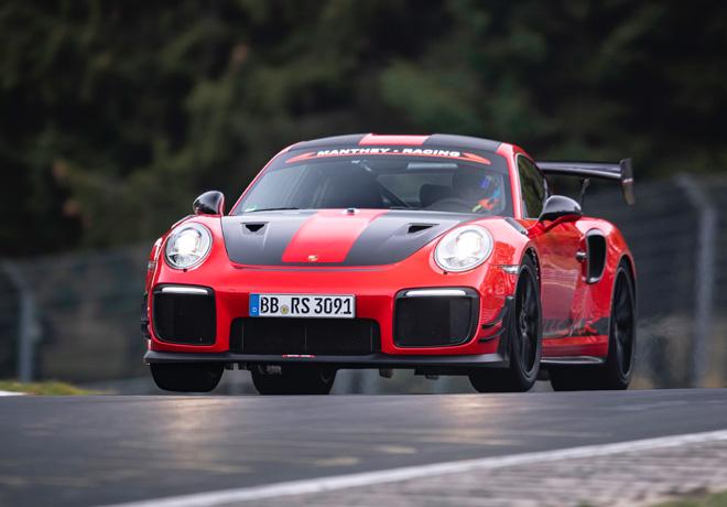 Porsche 911 GT2 RS MR - el deportivo de carretera mas rapido de Nurburgring 1