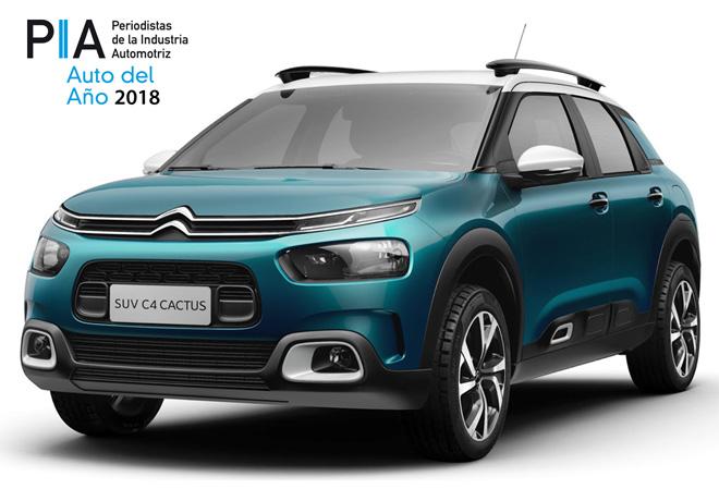 Premios PIA 2018 - Citroen C4 Cactus
