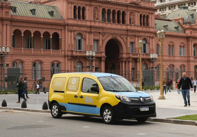 Renault aporto dos Renault Kangoo ZE para el Plan de Movilidad Limpia de la Ciudad de Buenos Aires 1