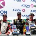 TC - Villicum - San Juan 2018 - Guillermo Ortelli - Facundo Ardusso - Matias Rossi en el Podio