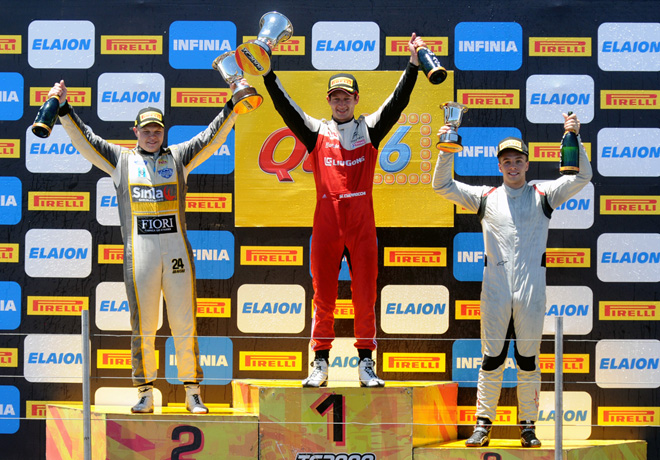 TC2000 - Rosario 2018 - Carrera Final - Matias Cravero - Marcelo Ciarrocchi - Geronimo Nunez en el Podio