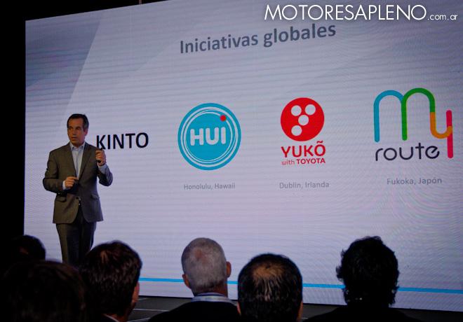 Toyota Argentina presento Toyota Mobility Services 2