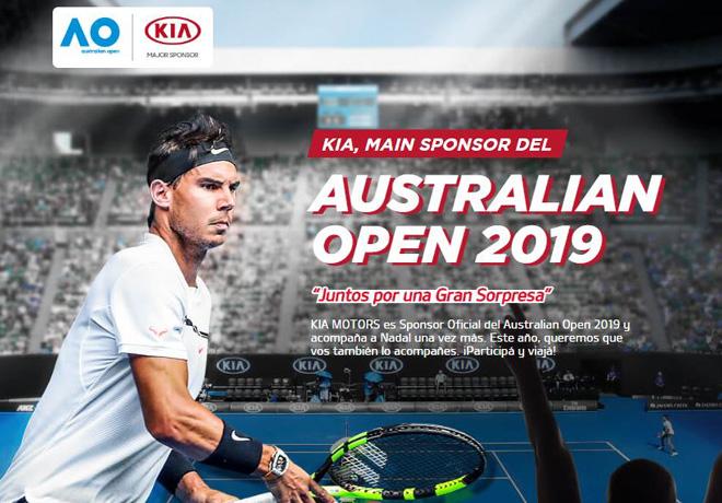 Un test drive diferente - Participa y viaja con KIA al Australian Open 1