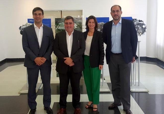 VW Argentina recibio en el Centro Industrial Cordoba visitas del Ministerio de Producción de la Nacion 2