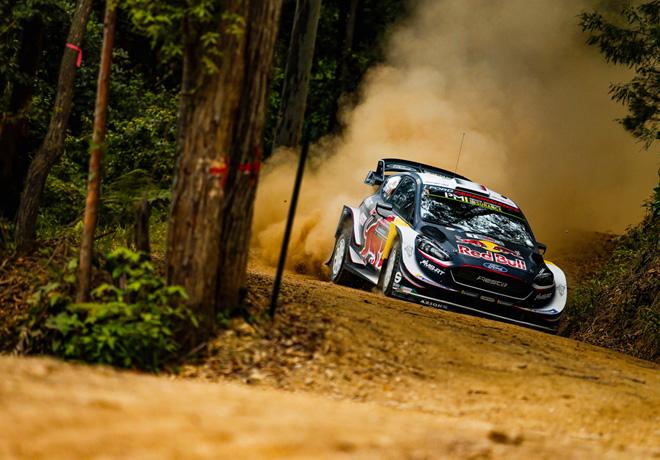 WRC - Australia 2018 - Dia 1 - Sebastien Ogier - Ford Fiesta WRC