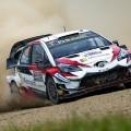 WRC - Australia 2018 - Dia 2 - Ott Tanak - Toyota Yaris WRC