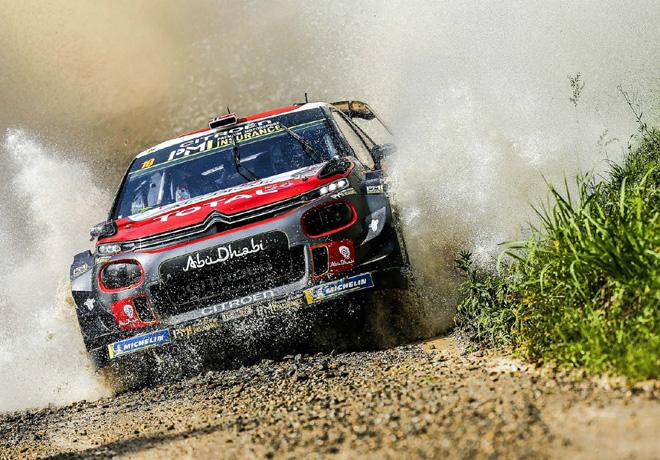 WRC - Corcega 2018 - Dia 1 - Mads Østberg - Citroen C3 WRC