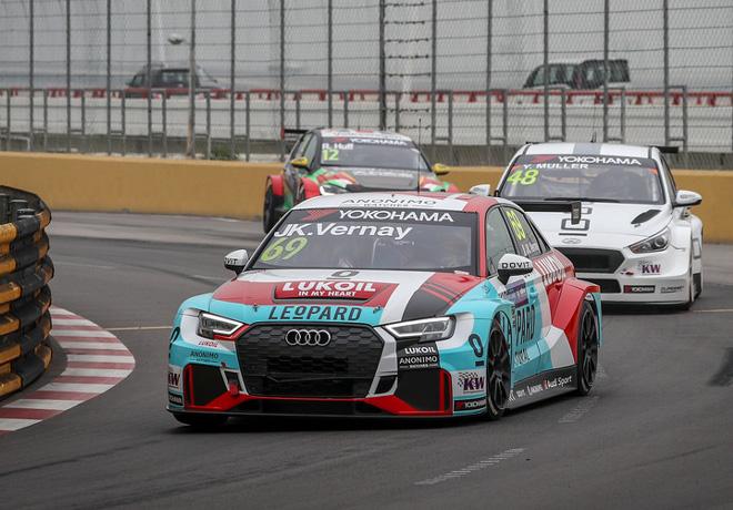 WTCR - Macao 2018 - Carrera 1 - Jean-Karl Vernay - Audi RS3 LMS