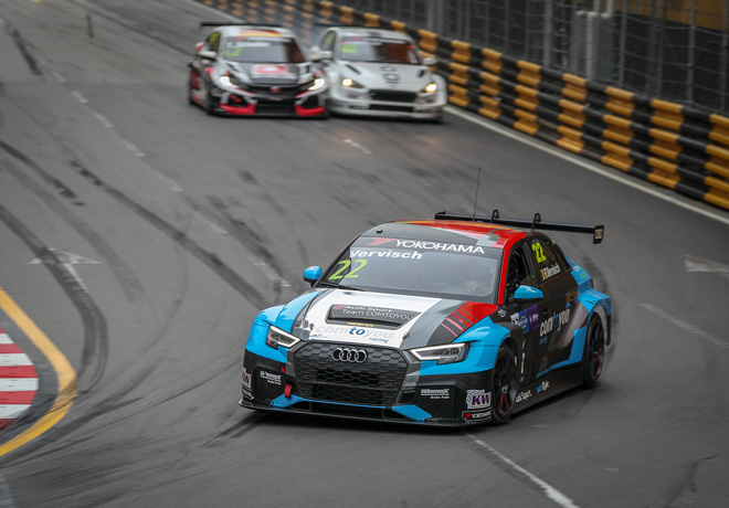 WTCR - Macao 2018 - Carrera 2 - Frederic Vervisch - Audi RS3 LMS