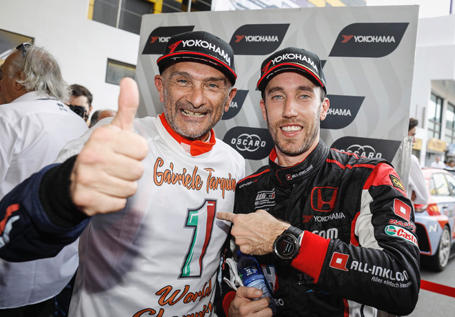 WTCR - Macao 2018 - Gabriele Tarquini y Esteban Guerrieri