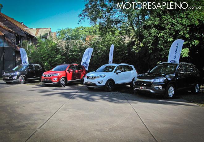 Car One presentó al mercado argentino la marca Changan, y anticipa los modelos CS15 y CS75.