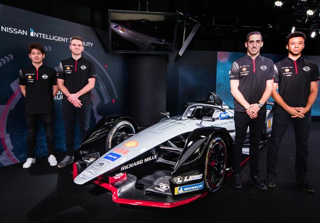 Formula E - Nissan eDams confirmo a sus pilotos