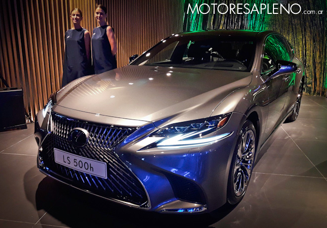 Lexus, la marca japonesa de vehículos de lujo, llega a la Argentina.