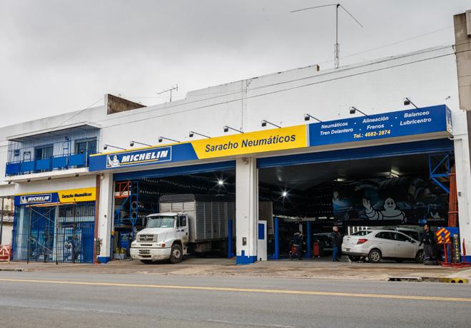 Michelin - Saracho Neumaticos