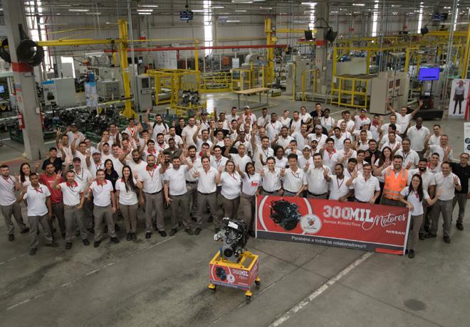 Nissan produce el motor numero 300 mil en su Complejo Industrial de Resende en Brasil