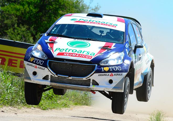 Rally Argentino - Mina Clavero 2018 - Etapa 1 - Geronimo Padilla - Peugeot 208 MR
