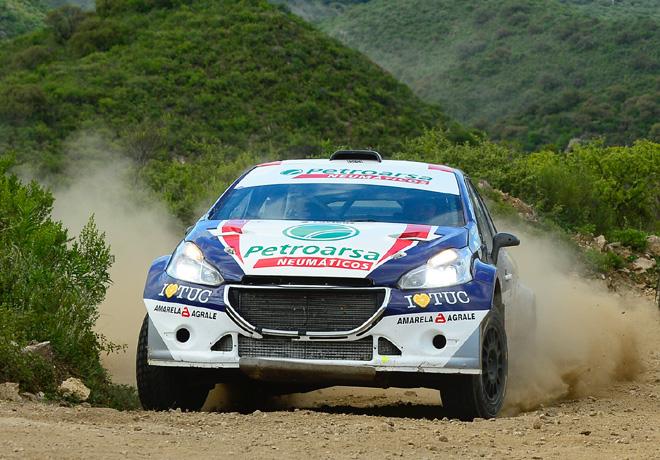 Rally Argentino - Mina Clavero 2018 - Final - Geronimo Padilla - Peugeot 208 MR