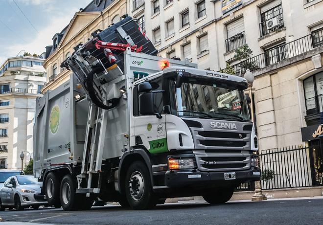 Scania y Cliba son socios para ofrecer una ciudad mas limpia