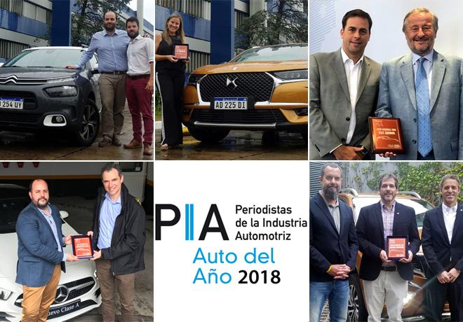 Se entregaron los premios PIA 2018