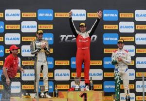 TC2000 - Parana 2018 - Carrera Final - Santiago Mallo - Marcelo Ciarrocchi - Rodrigo Lugon en el Podio