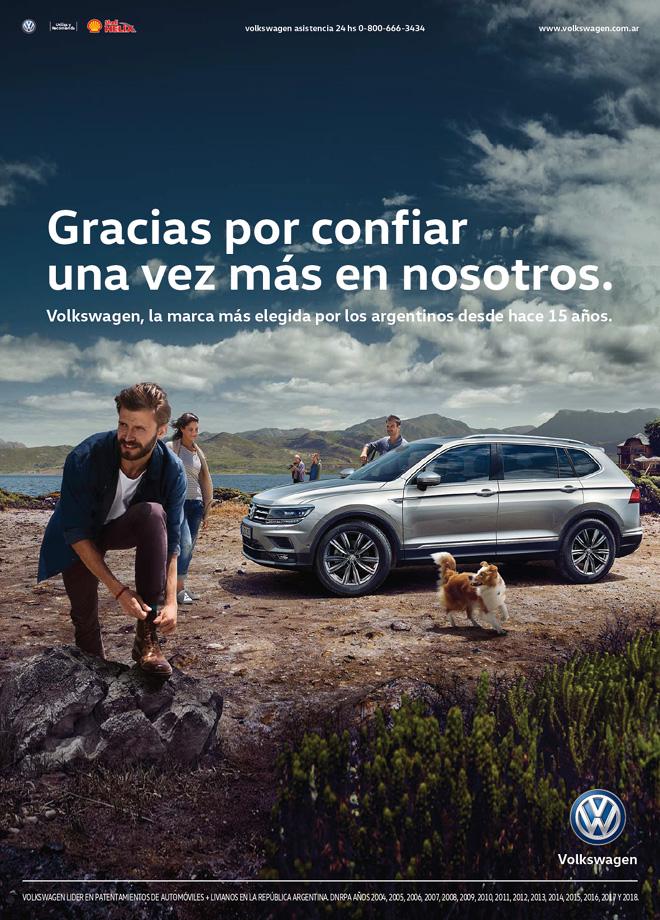 VW Argentina lleva 15 anios de liderazgo de mercado en el pais