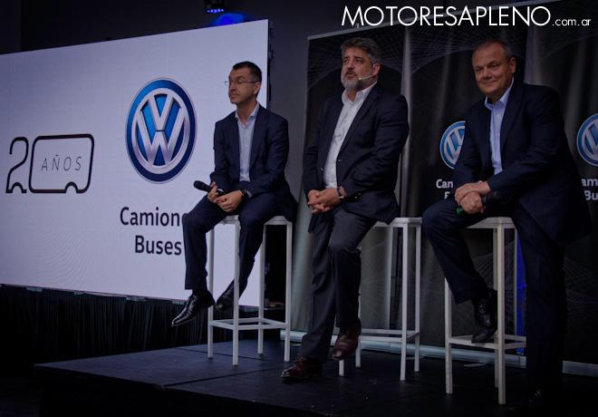 VW Camiones y Buses celebro sus 20 anios en Argentina