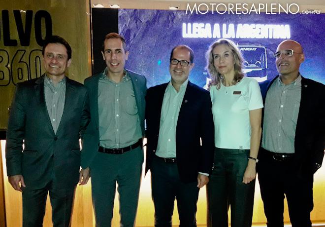 Volvo Argentina presento su balance del 2018