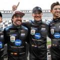 24hs de Daytona - Kamui Kobayashi - Fernando Alonso - Renger Van Der Zande - Jordan Taylor - Wayne Taylor Racing