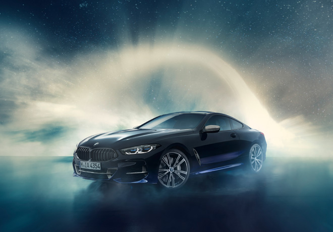 BMW M850i Night Sky 1