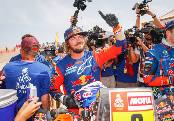 Dakar 2019 - Etapa 10 - Toby Price - KTM