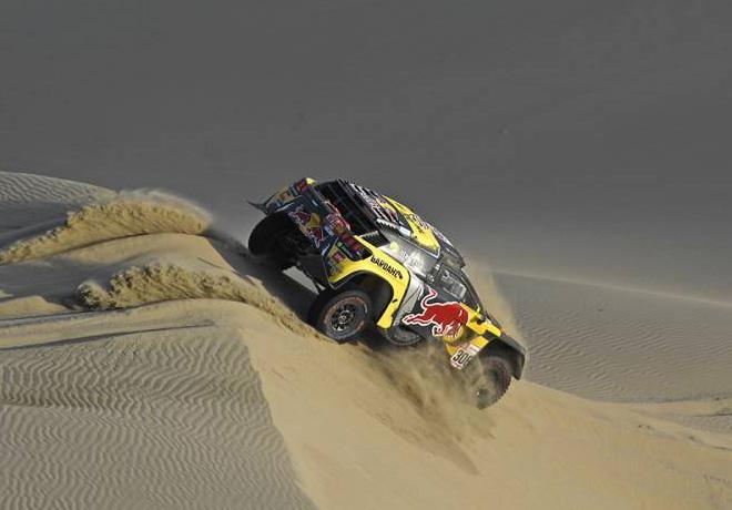 Dakar 2019 - Etapa 2 - Sebastien Loeb - Peugeot 3008DKR Maxi
