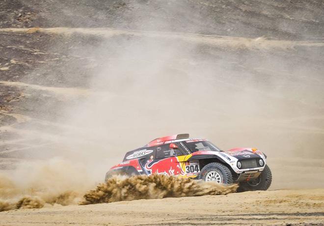 Dakar 2019 - Etapa 3 - Stephane Peterhansel - Mini