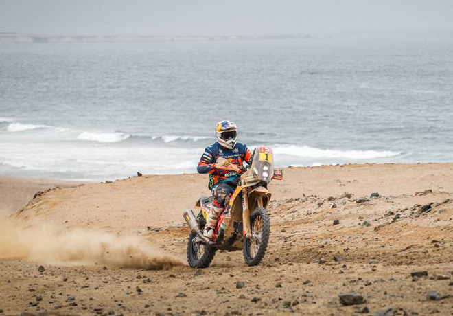 Dakar 2019 - Etapa 8 - Matthias Walkner - KTM