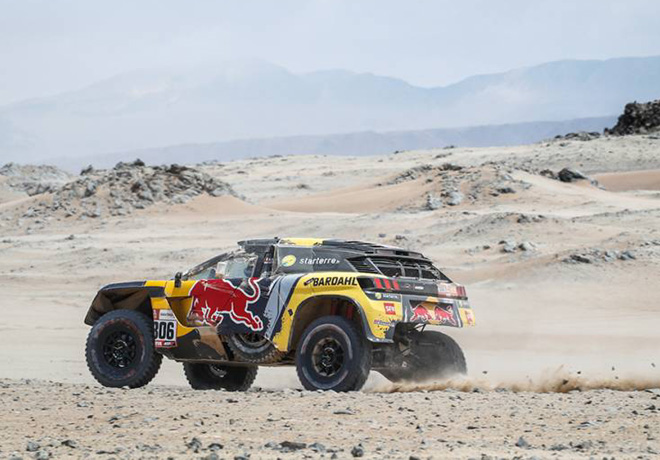 Dakar 2019 - Etapa 8 - Sebastien Loeb - Peugeot 3008DKR Maxi
